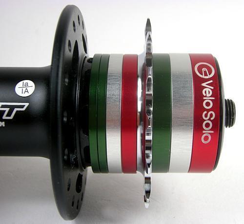 VeloSolo UK CNC SINGLESPEED Cassette Hub SPACER KIT single speed COLOURS Shimano