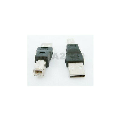 USB Type A Male to USB B Printer Male Converter Adapter