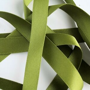 Shades 78 to 405 15mm wide Ribbon R14 Double Satin Ribbon Berisfords Ribbon