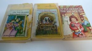 LOT 3 1971 Little House on the Prairie Paperbacks Laura Ingalls Wilder