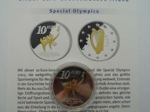 Irland-10-Euro-2003-Silber-Special-Olympics