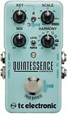 New TC Electronic Quintessence Harmonizer Guitar Effects Pedal!