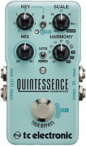 New-TC-Electronic-Quintessence-Harmonizer-Guitar-Effects-Pedal