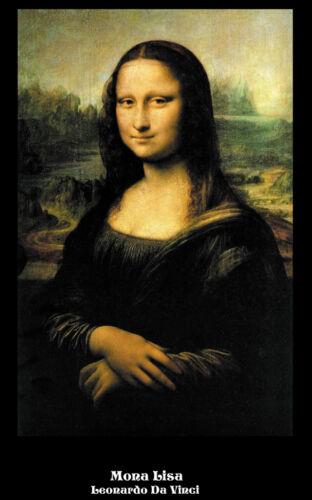 Mona Lisa La Gioconda by Leonardo Da Vinci art  print