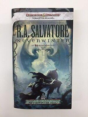 NEVERWINTER FORGOTTEN REALMS DUNGEONS & DRAGONS R A  SALVATORE WOTC D&D  BOOK   eBay