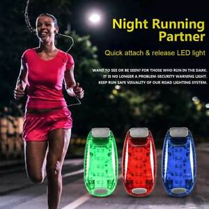 Clip-On-LED-Light-for-Running-Bike-Rear-Lamp-Cycling-Jogging-Safety-Warning-AU