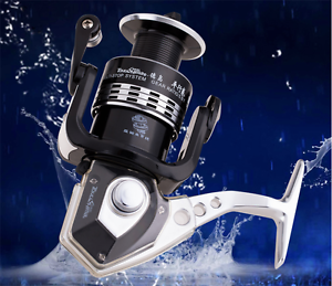 HY1000-7500 Fishing Reels 14 BB Ball Bearings  Parallel Line Wining Spinning Reel  up to 50% off