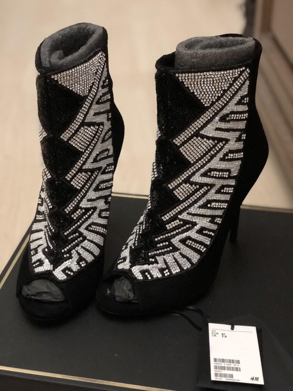 H&m balmain HM sandalias zapatos de alto zapatos botines