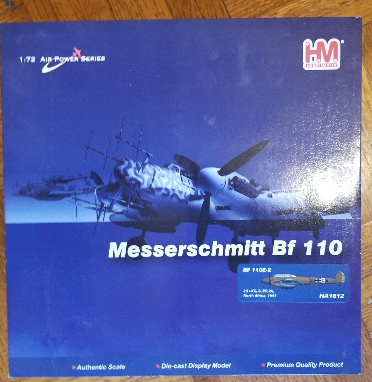 Hobby master 1 72 BF 110E HA1812