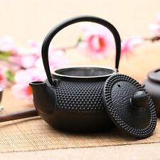 800ml Black Hobnail Tetsubin Kettle Cast Iron Tea pot Teapot with Infuser TP164