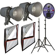 Impact Two Monolight Softbox Kit (120VAC) 600 Total Watt/Seconds