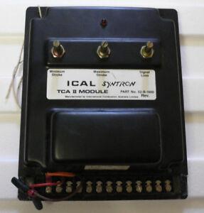 SYNTECHTRON-ICAL-SYNTRON-TCA-2-MODULE-50Hz-Control-Module-415V-240V-110V
