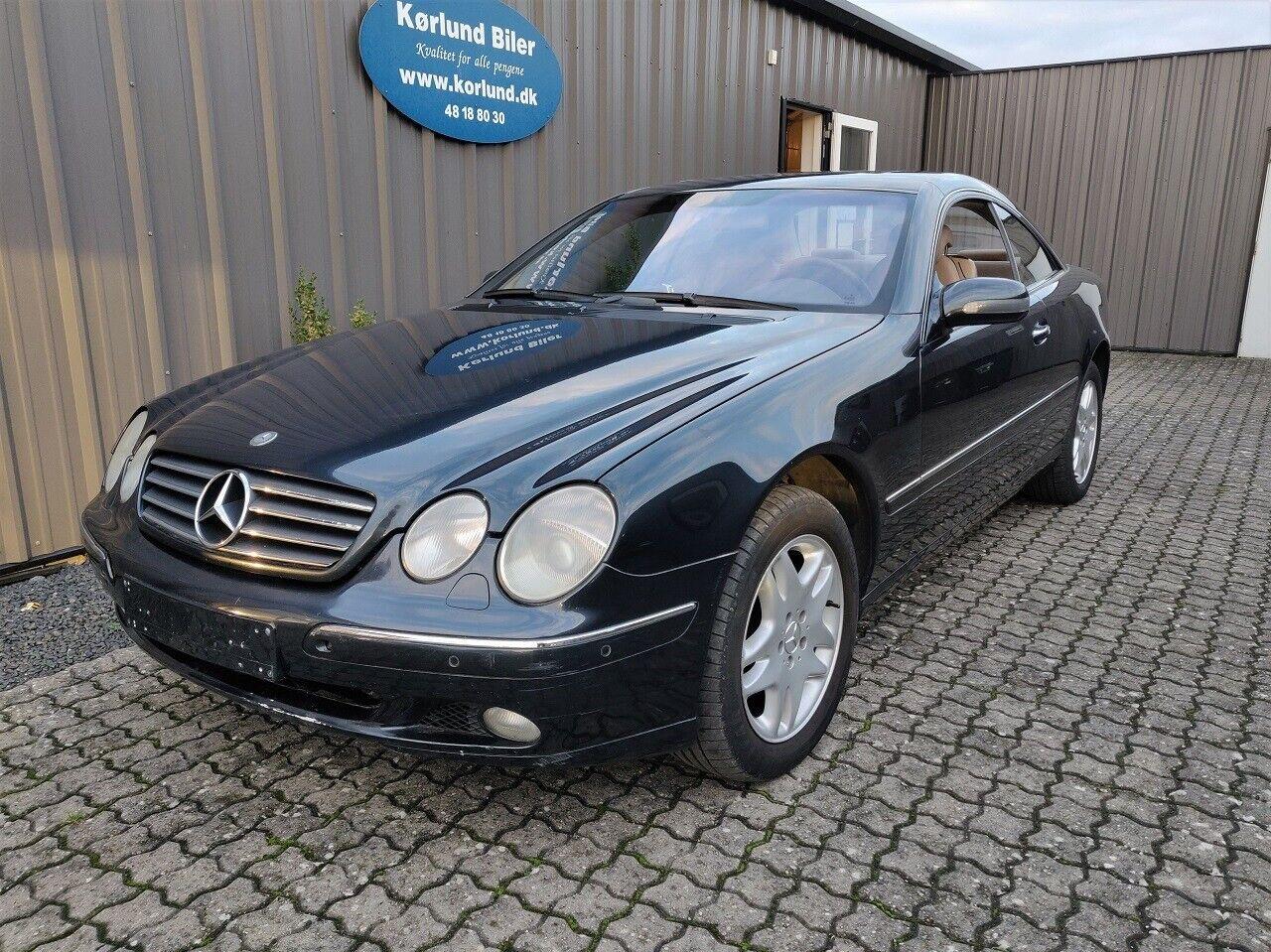 Mercedes CL500 5,0 aut. 2d