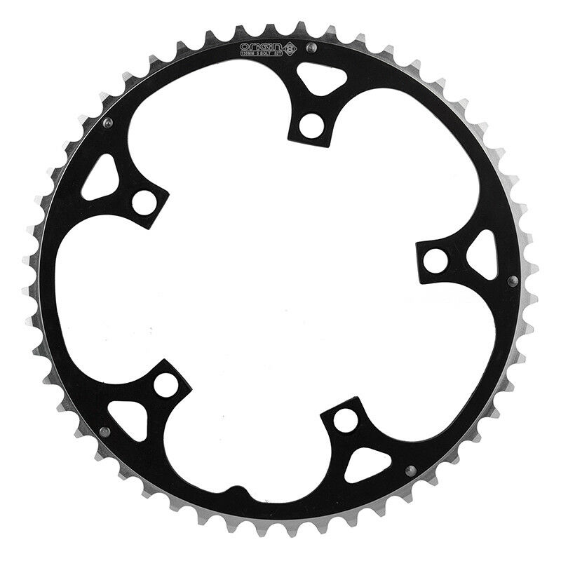 Origin-8 Alloy Ramped Chainrings Chainring Or8 130mm 52t Ramped Bk sl