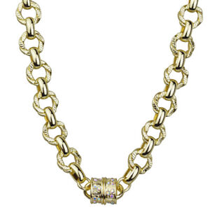 Kirks-Folly-Unchain-My-Heart-Magnetic-32-034-Necklace-Goldtone-with-KF-Gift-Box