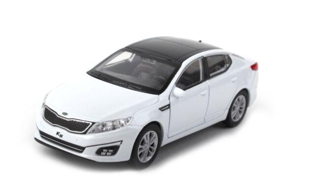 Kia K5 Optima Casting Mini Car 1 38 White