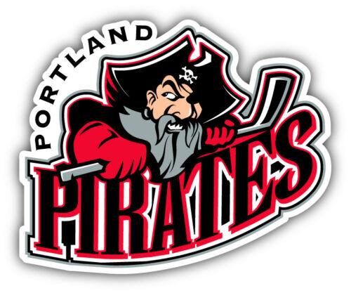 Portland Pirates Hockey Logo Car Bumper Sticker Decal 3/'/' 5/'/' or 6/'/'