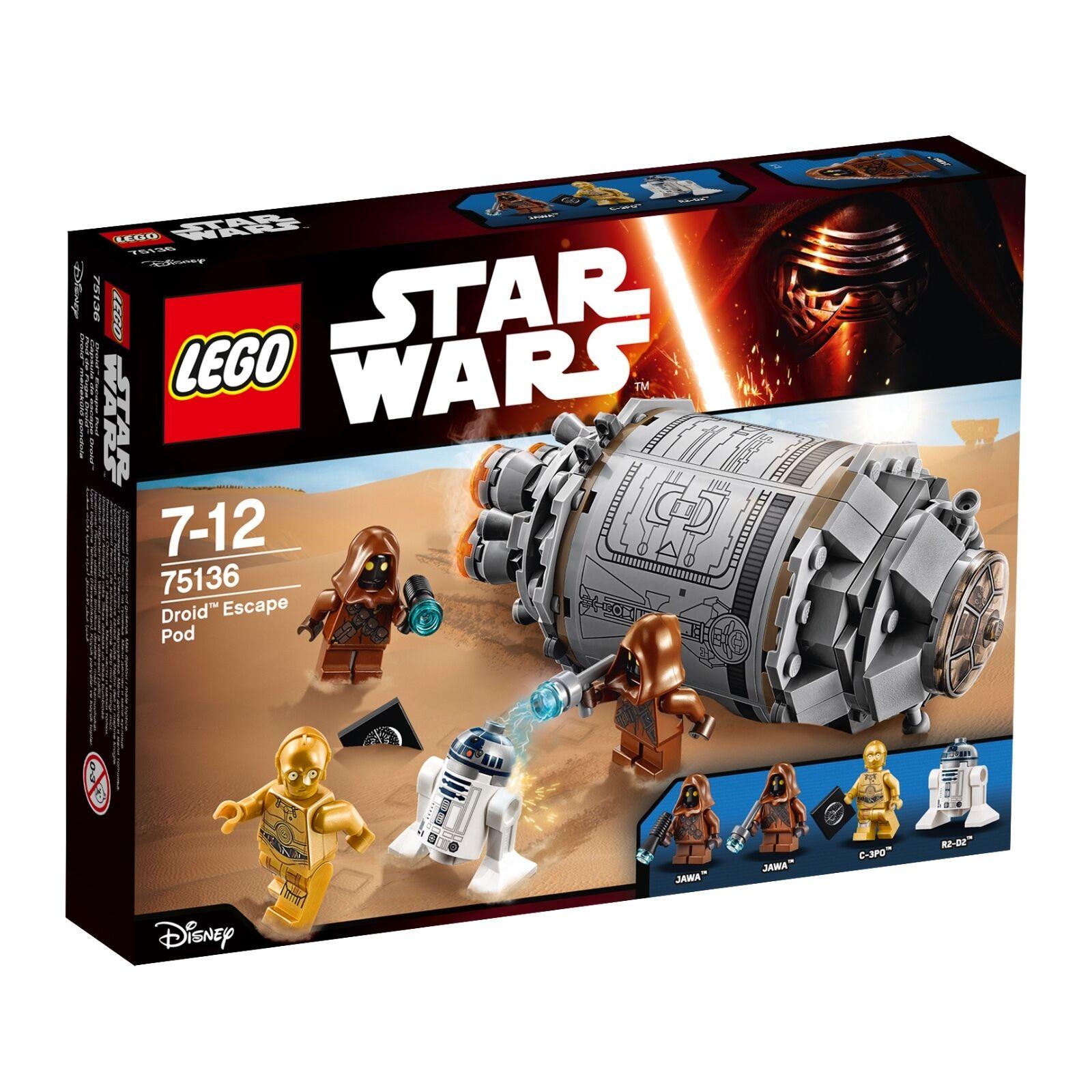 LEGO® Star Wars™ 75136 Droid™ Escape Pod NEU OVP NEW MISB NRFB