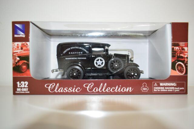 1931 Ford US Marshall's Van  M1:32 DIE-CAST NewRay 55123
