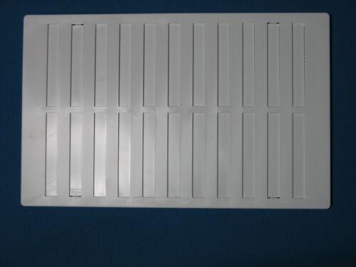 Ajustable Hit /& Miss ventilación de aire 9,5 X 6,5 en 10.5 X 6.5 ex Fly Pantalla Louvre