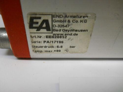EA END ARMATUREN EE620852 PNEUMATIC ACTUATOR 6-8 BAR NEW CONDITION NO BOX