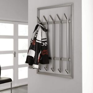 Design-Garderobe-Wandgarderobe-IMMO-5-XL-Edelstahl