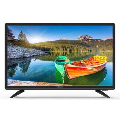 "Hitachi Alpha Series 22E30 22/"" Class FHD 1080p Long Life LED HDTV with Remote"