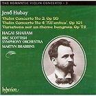 Jeno Hubay - : Violin Concerto No. 3; Violin Concerto No. 4; Variations sur un thème hongrois (2003)