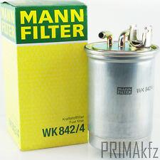 MANN FILTER WK 842/4 KRAFTSTOFFFILTER SEAT VW GOLF PASSAT TRANSPORTER IV T4 NEU