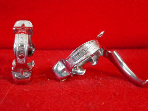 Suntour Derailleur Cable Guide Clamps Upper Lower 28.6 mm Used