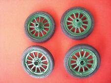 Z 803/4 Schuco RUOTA = pneumatici su cerchioni/per giocattoli di latta Auto Oldtimer