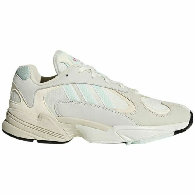 Size 9 - adidas Yung-1 Off White Mint