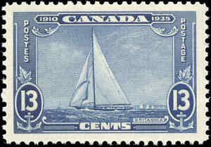 Mint-NH-Canada-1935-F-VF-Scott-216-13c-Silver-Jubilee-Stamp