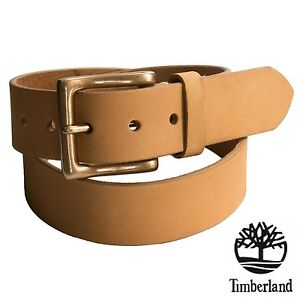 02944df3946 NWT Timberland Men's Boot-Leather Belt 38 mm Classic Premium Wheat ...