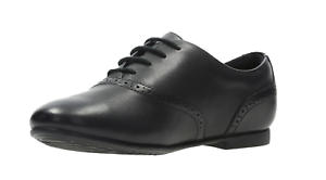 Niña Cordones Clarks De Colegio' Jules Calado Con Zapatos ' Andar Cuero qUTpWU