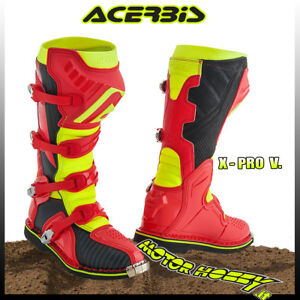 Stivali Acerbis X Pro V RossoBlu | Motocross, Enduro, Trial | GreenlandMX.it