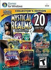 Mystery Masters: Mystical Realms Collection 20 Complete Games in All NEW