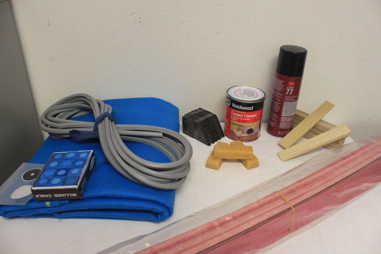 Home Recovering Kit für 7-Fuß Billardtische