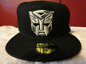 d86f40d7 Details about Brand New era Transformers Autobot Dark of the Moon silver  gray white black hat!
