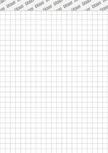 60 g//m² A6 Ursus® Notizblock kariert 5 mm 48 Blatt
