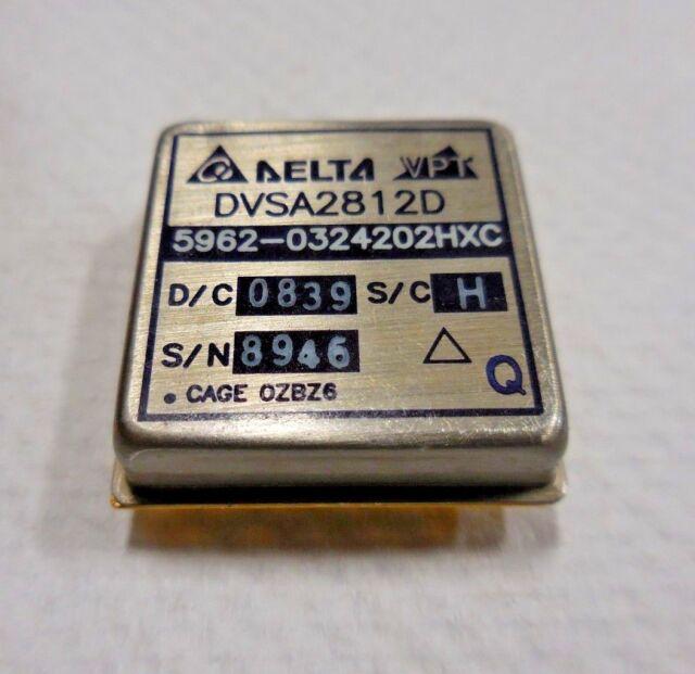 Delta Vpt Dvsa2812d 5962 0324202hxc Dc To Dc Converter Ebay