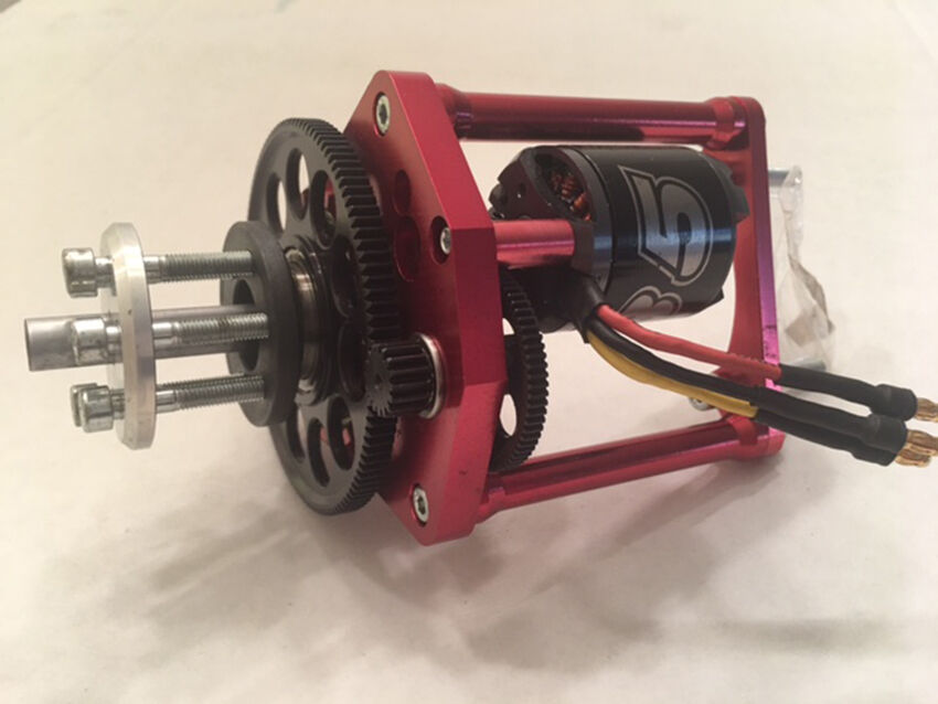 Electric Auto Starter for DLE 111  with Brushless Serie 35-42A 1250Kv 600W