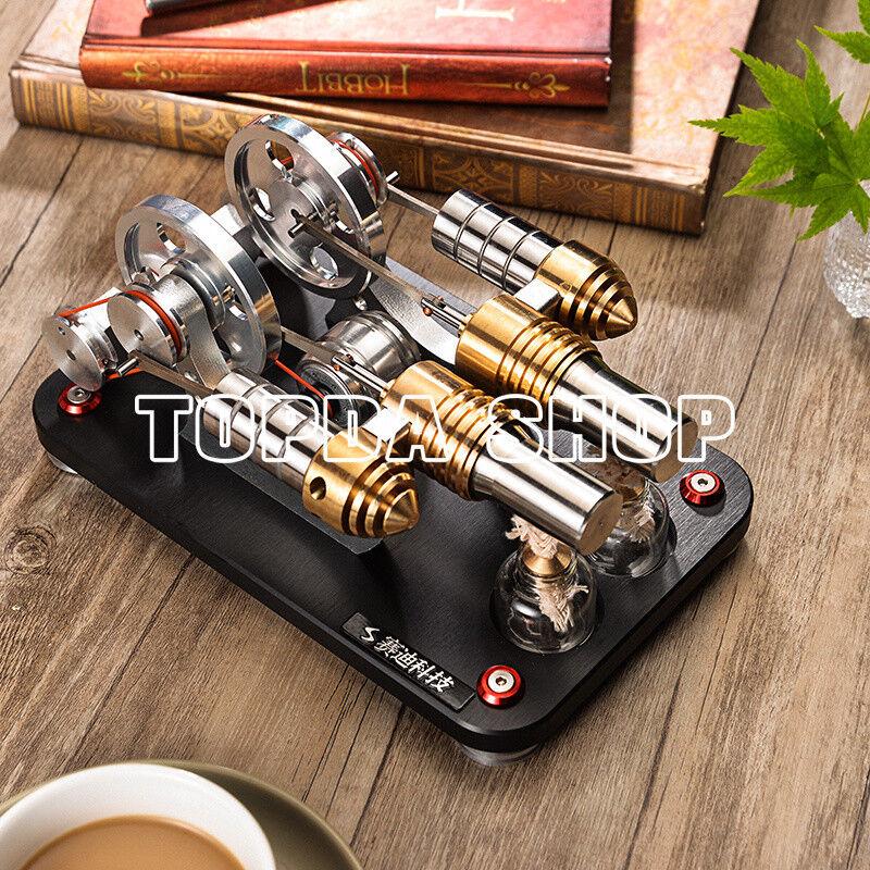 1pc stirling - motor - m16-22-d modell mini - motor geschenk bildungs - spielzeug   ss
