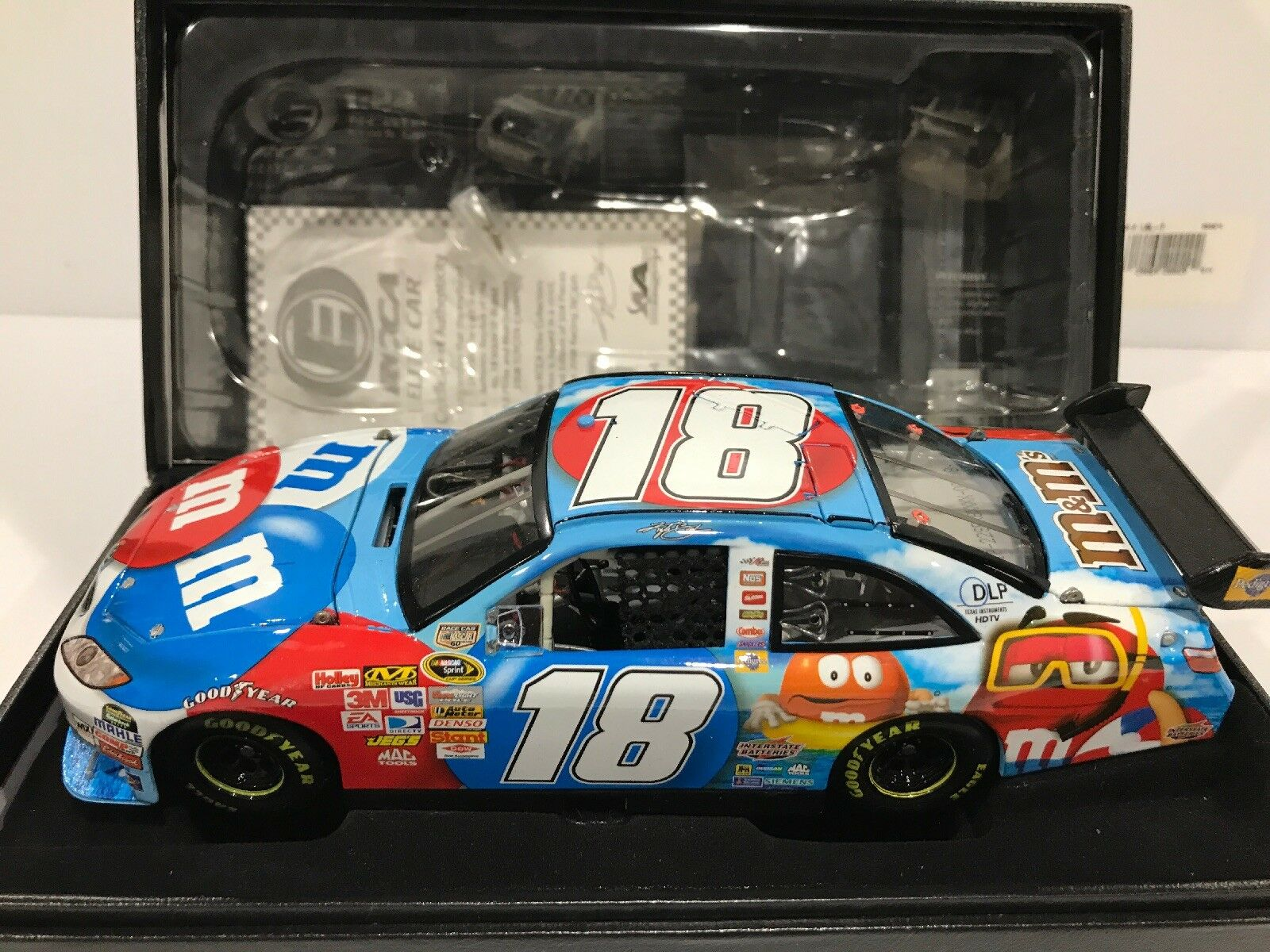 2008  Kyle Busch M&M's Red White &bluee Summer Fun Elite