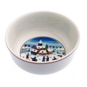 Villeroy Boch Naif Christmas Cereal Bowls Set of 6 New | eBay