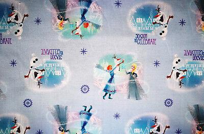 Anna Elsa 50 X 112 Cm Baumwolle Olaf Frozen Season Camelot Sterne Eiskönigin Ein BrüLlender Handel