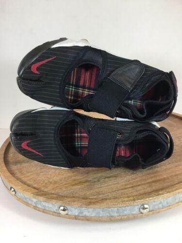 Rare Womens Nike Air Rift Split Toe Sz 6 Black Whi