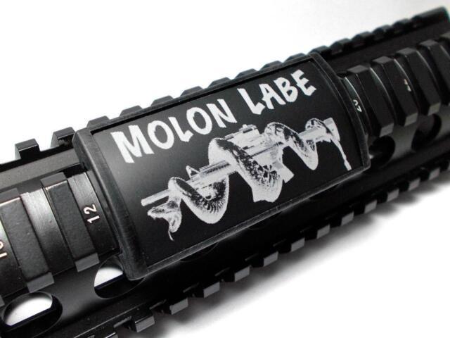 Custom Gun Rails Laser Engraved Picatinny Rail Cover Permodize Just The Tip