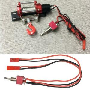Steel 1 10 Winch Switch Cable For Traxxas Hsp Redcat Rc