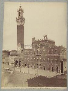 Siena-Italia-Foto-Alinari-Vintage-Albumina-C-1875